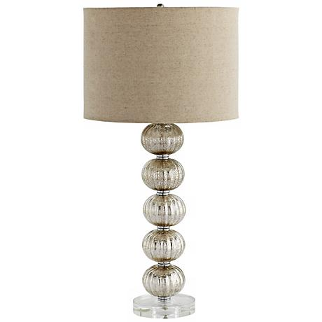 Aria Crackle Glass Table Lamp