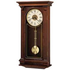"Howard Miller Sinclair 26 3/4"" Chiming Wall Clock"