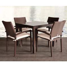 Atlantic Liberty 5-Piece Outdoor Dining Set