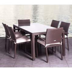Atlantic Liberty 7-Piece Outdoor Dining Set