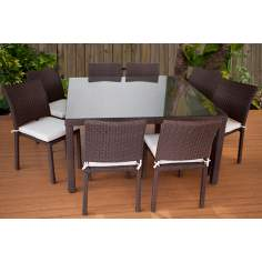 Atlantic Grand Liberty Outdoor Square Dining Set
