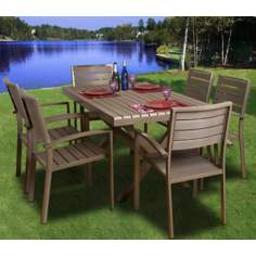 Atlantic Glasgow 7-Piece Outdoor Dining Set