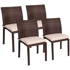 Atlantic Liberty Set of 4 Outdoor Side Chairs