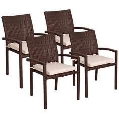 Atlantic Liberty Set of 4 Outdoor Armchairs