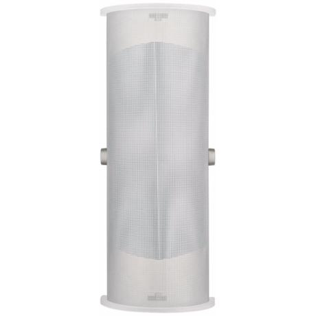 "LBL Presidio Wet Steel 15 1/2"" Outdoor Wall Light"