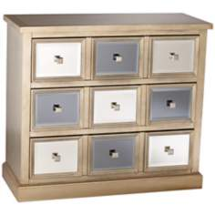 Gold Metallics 3-Drawer Storage Chest