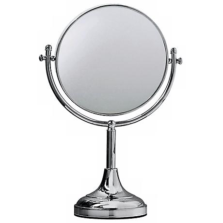 "Gatco 15"" High Chrome Table Mirror"