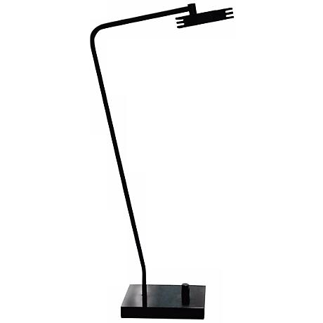 Cerno Sero Black Aluminum LED Desk Lamp