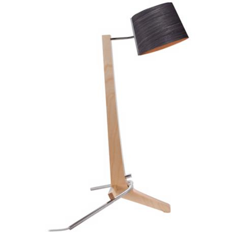 Cerno Silva Baltic Birch and Ebony Desk Lamp