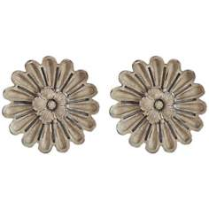 "Port 68 Set of 2 Elizabeth 8 1/2""W Rosette Wall Ornaments"