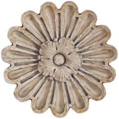"Port 68 Elizabeth Large 18"" Wide Rosette Wall Ornament"