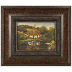 "Boats on the River 21 1/2"" Wide Framed Wall Art"