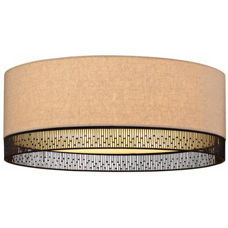 "LBL Hollywood Beach 16"" Wide Ceiling Light"
