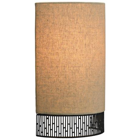 "LBL 11 3/4"" High Hollywood Beach Ceiling Light"