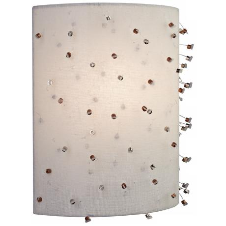 "LBL Sunkissed 11"" LED Metal Wall Sconce"