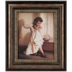 "Her Mother's Shoes  30"" High Wall Art"
