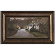 "English Lane I 31 1/2"" Wide Framed Wall Art"
