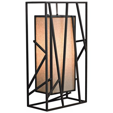 "LBL Derby 14 1/2"" Geometric Metal LED Wall Sconce"