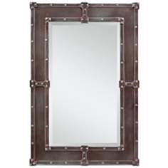 "Cooper Classics Lamare 35"" High Rectangular Wall Mirror"
