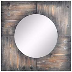 "Cooper Classics Laurent 31 1/2"" Square Wall Mirror"