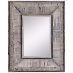 "Cooper Classics Avery 30"" High Rectangular Wall Mirror"