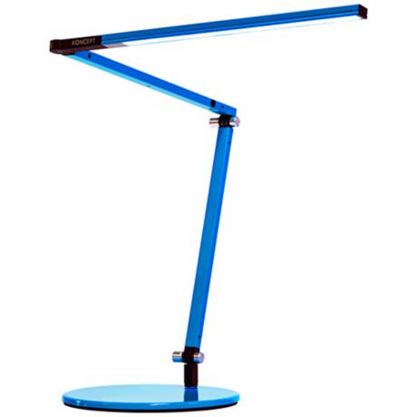 Koncept Gen 3 Z-Bar Mini Warm Light LED Desk Lamp Blue