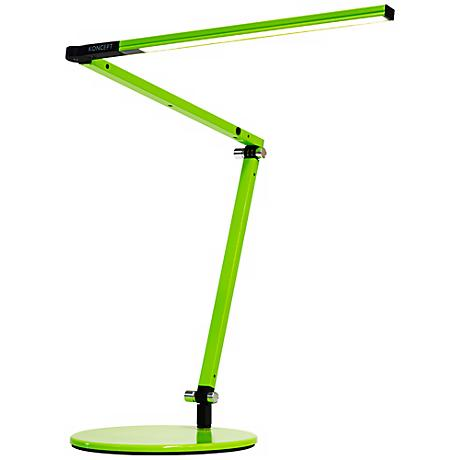 Koncept Gen 3 Z-Bar Mini Warm Light LED Desk Lamp Green