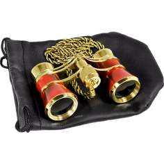 Barska Blueline 3x25 Opera Binoculars with Necklace