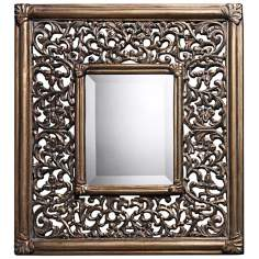 "Collingswood 21"" High Ravenhille Gold Wall Mirror"