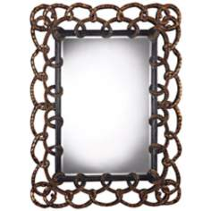 "Norwich 51"" High Courthill Bronze Wall Mirror"