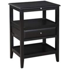 Sedona Antique Black Accent Table