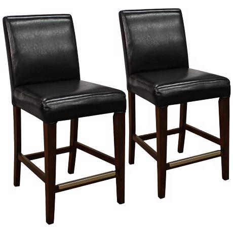 "Set of 2 American Heritage Highland 26"" High Counter Stools"