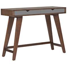 Daniel Dark Walnut Console Table