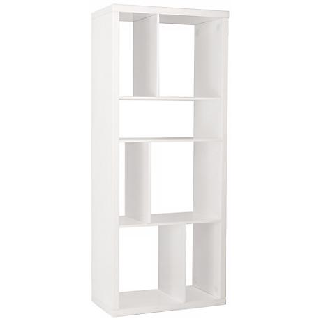 Reid White Shelving Unit or Media Stand