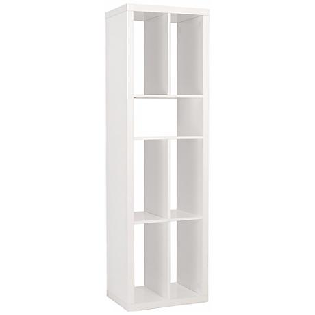 Ryn White Shelving Unit or Media Stand