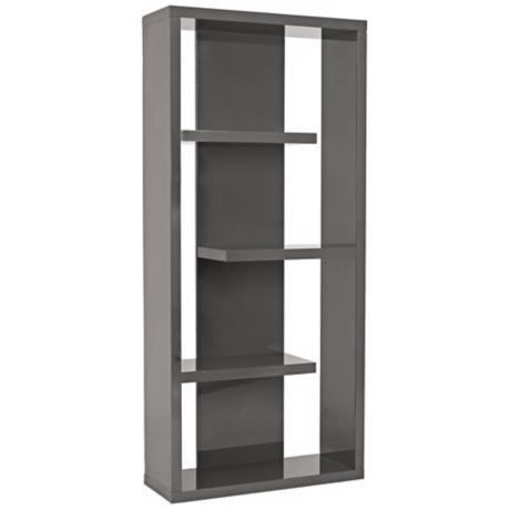 Robyn Grey Shelving Unit