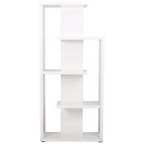 Robbie Modern White Shelving Unit