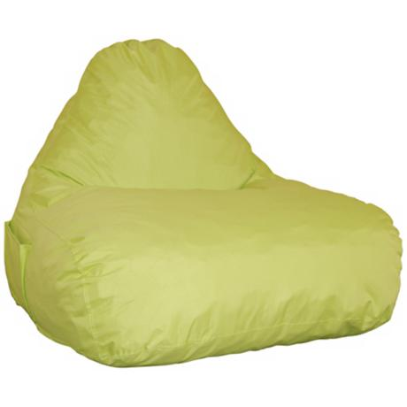 Juggle Green Memory Foam Lounge Chair