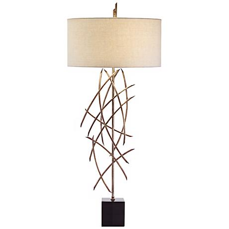 John Richard Metal Stick Table Lamp