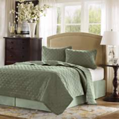 Hampton Hill Velvet Touch Ocean Coverlet Set