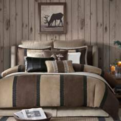 Woolrich River Run Plaid Comforter Set