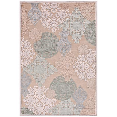Jaipur Fables Wistful FB19 Cream Area Rug