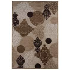 Jaipur Fables Wistful FB20 Beige Area Rug