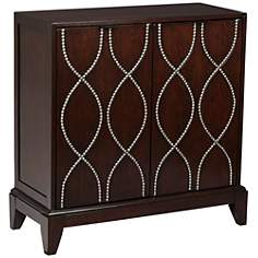 Benjamin 2-Door Espresso Accent Chest