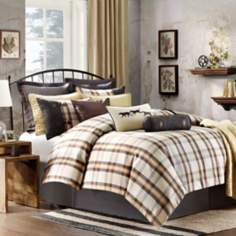 Woolrich Oak Harbor Plaid Comforter Set