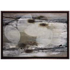 "Seastrand 36"" Wide Abstract Wall Art"