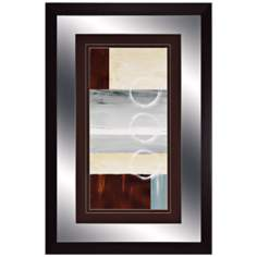 "Calm Waters I 36"" High Modern Wall Art"