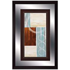 "Calm Waters II 36"" High Modern Wall Art"