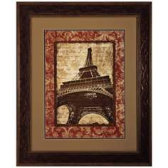 "J'Aime Paris II 36"" High Eiffel Tower Wall Art"