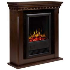 Dimplex Bravado II Espresso Electric Fireplace